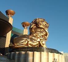 The MGM Lion by veda