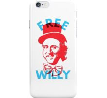 Free Willy (Wonka) Gene Wilder Charlie and The Chocolate Factory iPhone Case/Skin