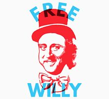 Free Willy (Wonka) Gene Wilder Charlie and The Chocolate Factory T-Shirt
