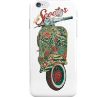 il Scooter iPhone Case/Skin