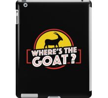 Jurassic Park - Where's The Goat? iPad Case/Skin