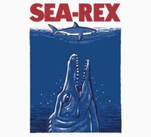 Mosasaurus Jurassic World Sea Rex by Tabner