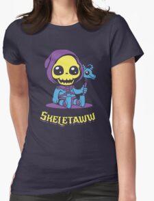 Cute Skeletor - Skeletaww Womens Fitted T-Shirt
