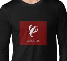 Cancer, Zodiac Long Sleeve T-Shirt