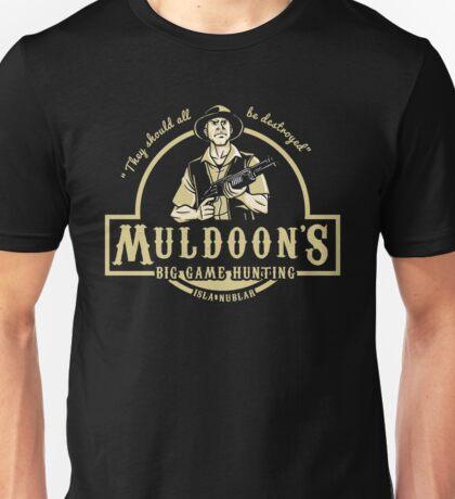 MULDOON'S BIG GAME HUNTING Unisex T-Shirt