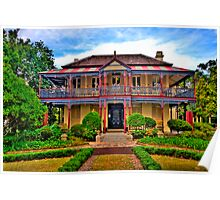 Boronia House c1885 - Mosman NSW - The HDR Experience Poster