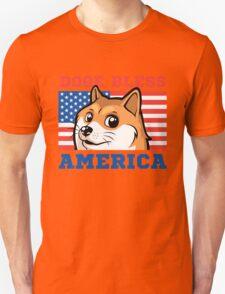 Doge Bless America T-Shirt