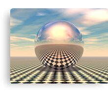 Checker Ball Canvas Print