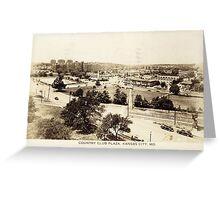 1938 Country Club Plaza Kansas City, MO Greeting Card