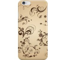 Vintage Pattern iPhone Case/Skin