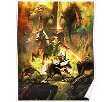 Zelda Twillight Princess Main Art Poster