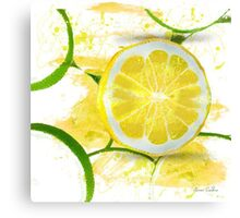 Lemon Drop Canvas Print
