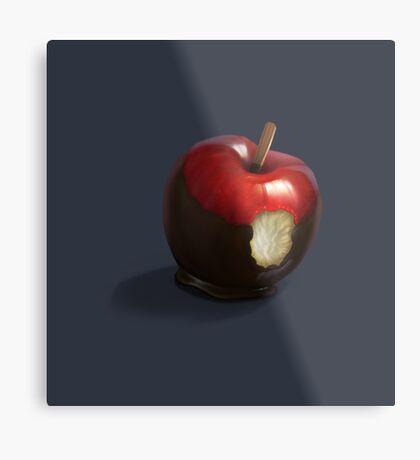 snow white's apple Metal Print