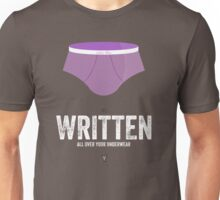 Cinema Obscura Series - Back to the future - Undies Unisex T-Shirt