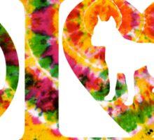 PITBULL PEACE & LOVE Sticker