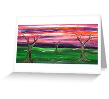 Tree Spirits Greeting Card