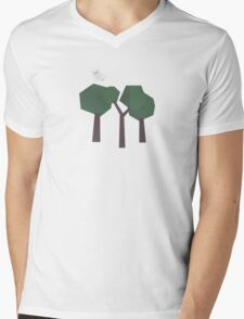 Lonely Cloud Mens V-Neck T-Shirt