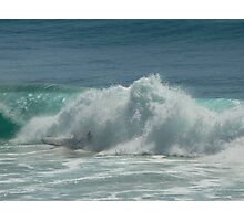Surfing Burleigh Heads #2 Photographic Print