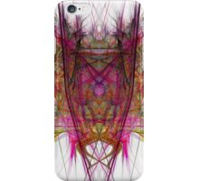 Demon in the flame iPhone Case/Skin