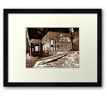 Empty Emotions  Framed Print