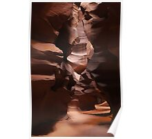 antelope slot canyon Poster