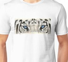 Eye-Catching Royal White Tiger Unisex T-Shirt