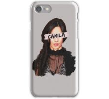Camila Paint & Sticky Tape iPhone Case/Skin