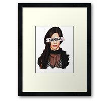 Camila Paint & Sticky Tape Framed Print