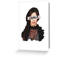 Camila Paint & Sticky Tape Greeting Card