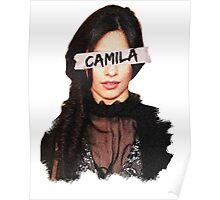 Camila Paint & Sticky Tape Poster