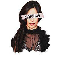 Camila Paint & Sticky Tape Photographic Print