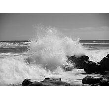 The Big Splash - BW Photographic Print