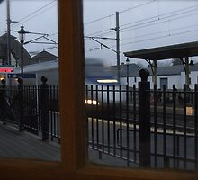 Fast Train Through the Window!  by Jack McCabe