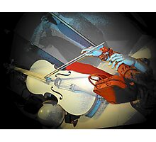 Dance to the White Violin.. Photographic Print