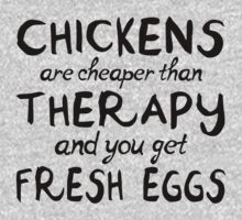 Chicken Therapy by cesstrelle