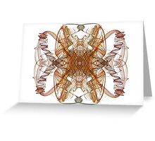 Fractal Swirls II Greeting Card