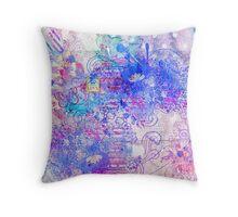 Flower texture Throw Pillow