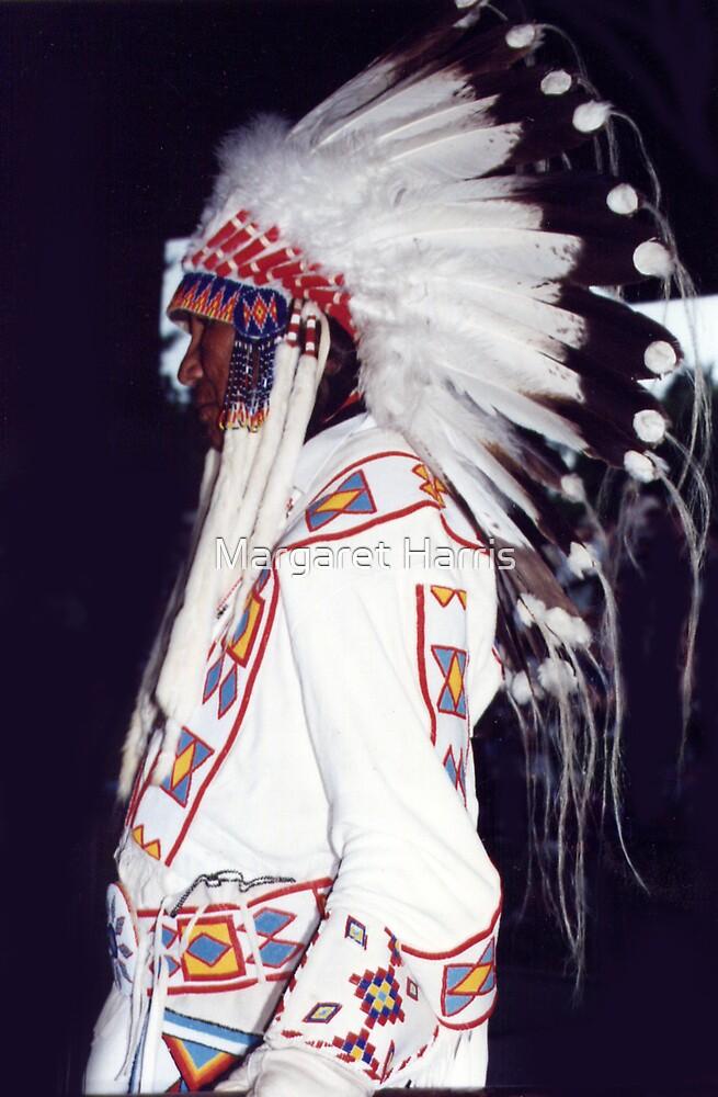 Blackfoot Indian Chief by Margaret Harris