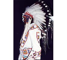 Blackfoot Indian Chief Photographic Print