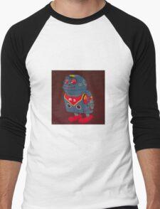Jumping Robot 3 Men's Baseball ¾ T-Shirt