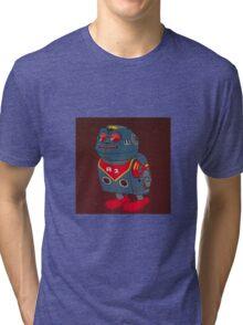 Jumping Robot 3 Tri-blend T-Shirt