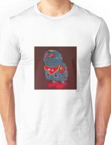 Jumping Robot 3 Unisex T-Shirt