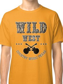 Wild West Country music Classic T-Shirt