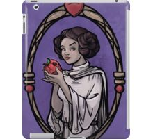 Snow Organa and the Poisoned Death Star iPad Case/Skin