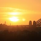 Sunset over Sydney by Scott Westlake
