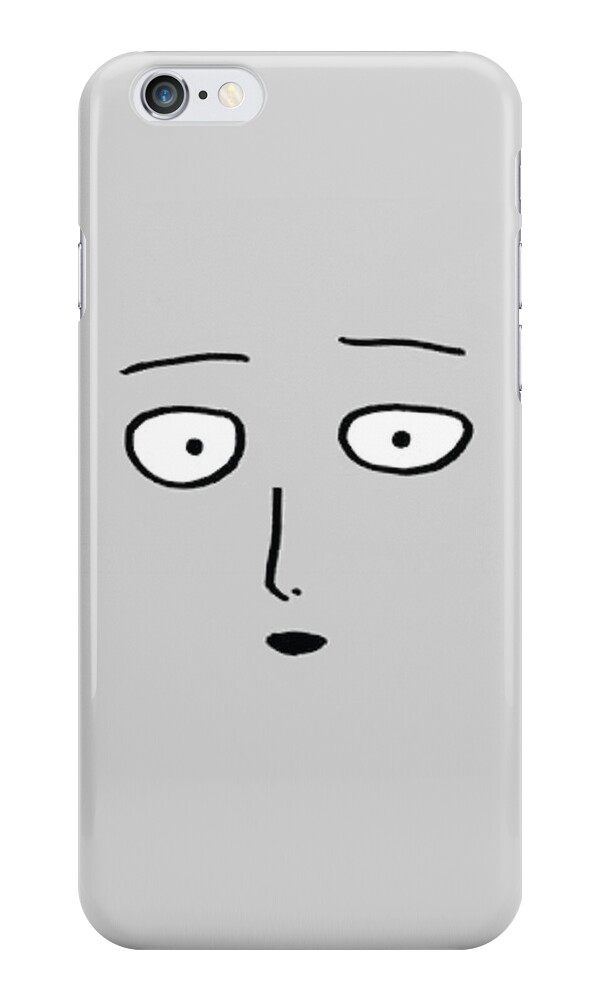 "Onepunch-Man - Saitama"" iPhone Cases & Skins by elsietrh 