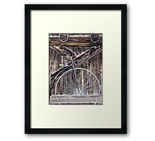 Bicycle built for one? Framed Print