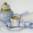 Tea with Nan by Fiona  Lee