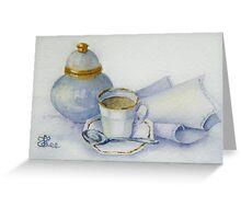 Tea with Nan Greeting Card