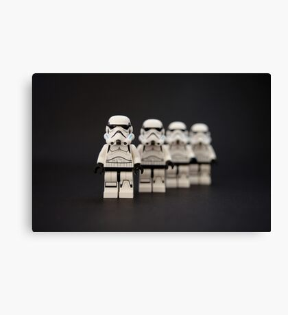 Trooper Parade Canvas Print